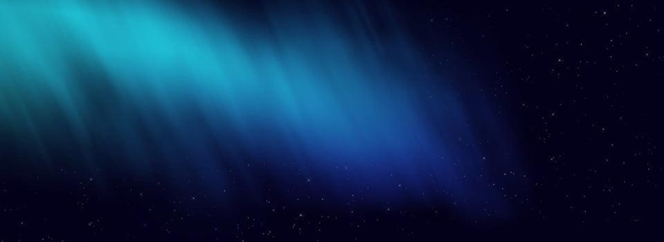 Sfondo Blu Stellato Di Aurora Luce Stellare Luce Blu Aurora Immagine