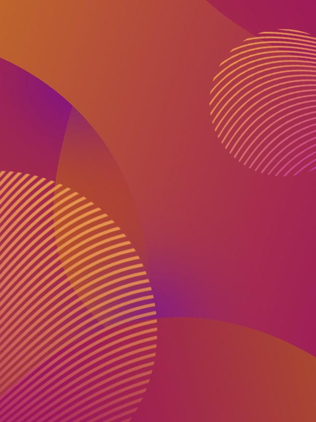 Fond de memphis dégradé courbe couleur chaude Créatif Courbe Couleur ...