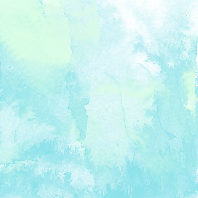 Watercolor Blue Background Hand Painted Pastel Blue Mint Green Background Image For Free Download