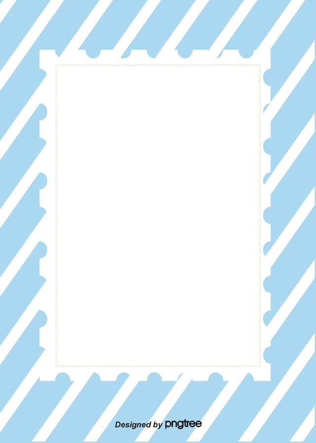 Semplice Sfondo Blu A Righe Bianco Fringe Bianco Semplice Immagine