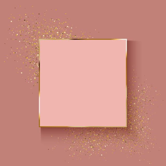 Rose Doro Sfondo Con Glitter Effetto Decorativo Abstract Sfondo