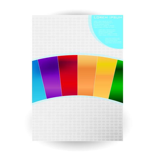 Vectonic Bianco Brillante Sfondo Multicolore Astratto Con Strisce