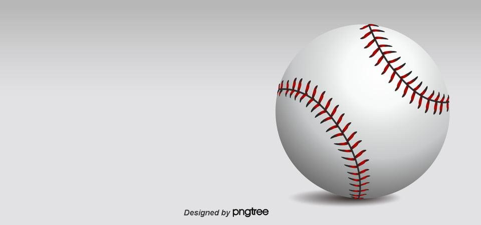 Simple White Baseball Background Wallpaper Sports Creative