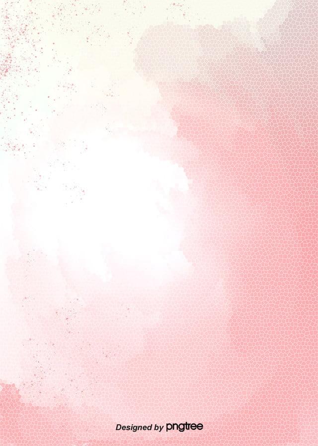 Le Stelle Rosa Con Po Di Bianco Sullo Sfondo Carino Splash Colore