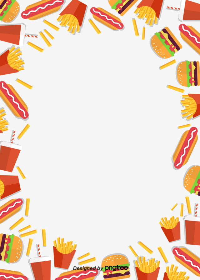 Cepat Makanan Hamburger Hot Dog Kentang Goreng Dan Coke