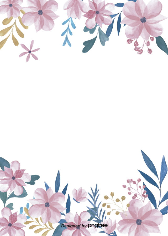 Mudah Tangan Putih Dicat Bunga Latar Belakang Daun Tangan Dicat