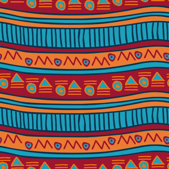 Illustration Vectorielle Sans Rayures Main Modele Afrique Fond Azteque Boheme Fond D Ecran Texture Conception Image De Fond Pour Le Telechargement Gratuit