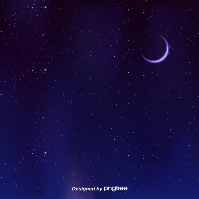 جميل سماء القمر النجوم في الليل سماء الليل سماء سماء مرصعة بالنجوم صورة الخلفية للتحميل مجانا