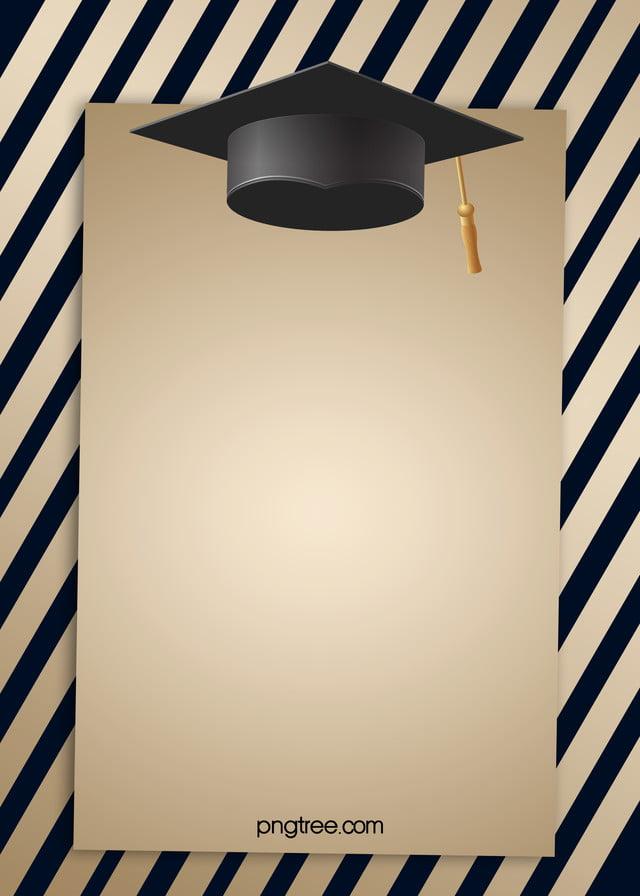 fondo del sombrero de graduaci u00f3n fuente de sabiduria rayas