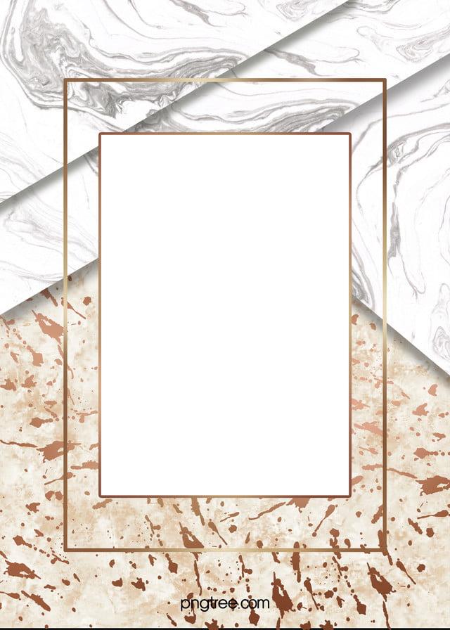 Rosegold Marble Frame Cascade Background Marble