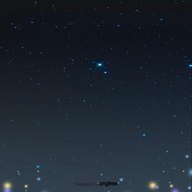 Aesthetic Black Night Starry Sky Estetika Adegan Malam Gambar Latar Belakang Untuk Unduhan Gratis