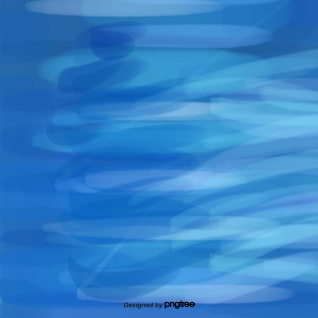 I Cartoni Animati Di Fondo Del Mare E Il Mare Blu Elementi Di I