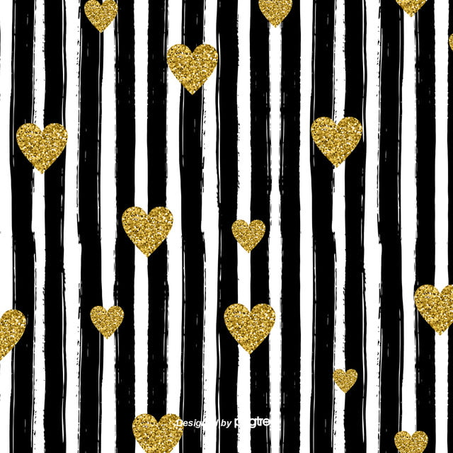 pngtree simple black and white stripes love background image 109813