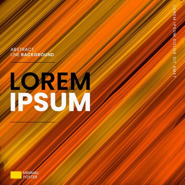 Moderne Orange Linien Hintergrund Abstract Hintergrund