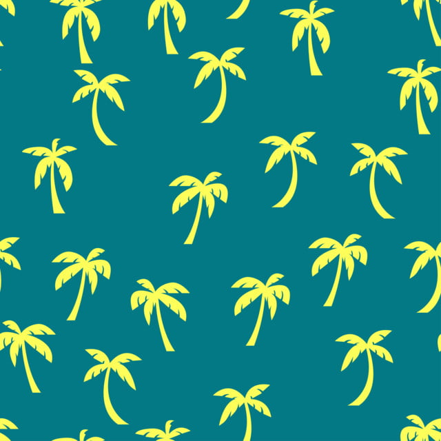 Palm Tree Pattern Seamless For Any Web Design Or Textile
