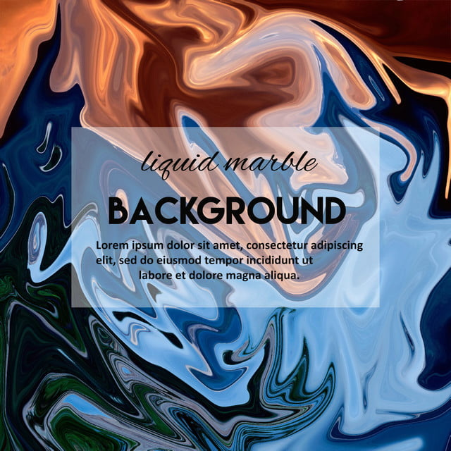 Mix Color Liquid Marble Background Template Background