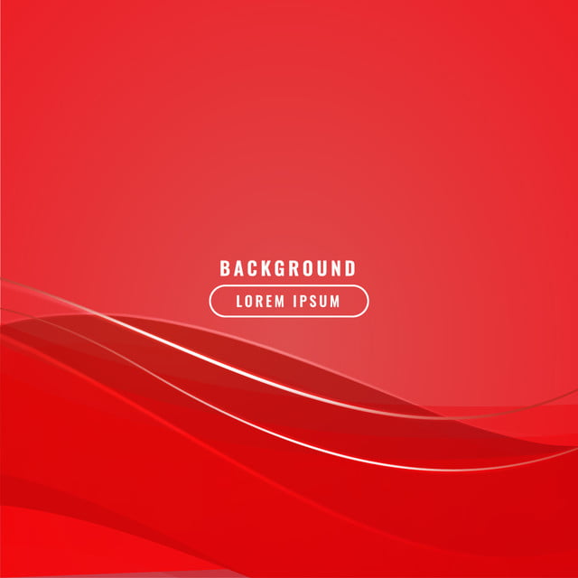 Red Background With Dynamic Abstract Shapes Background