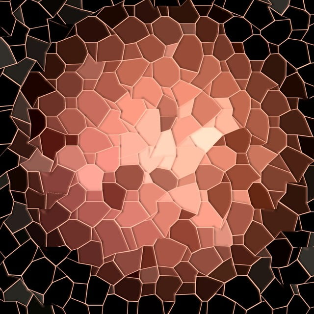 Mosaic Wallpaper Black Rose Gold Background Rose Gold