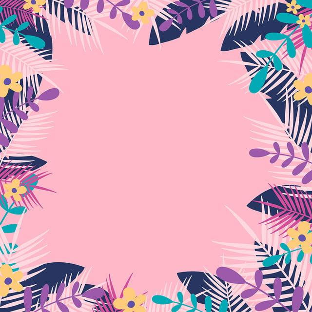 Summer Cute Background Pattern