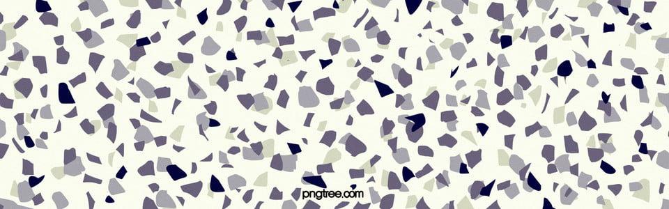 Texture Background Of Hand Painted Flat Irregular Terrazzo