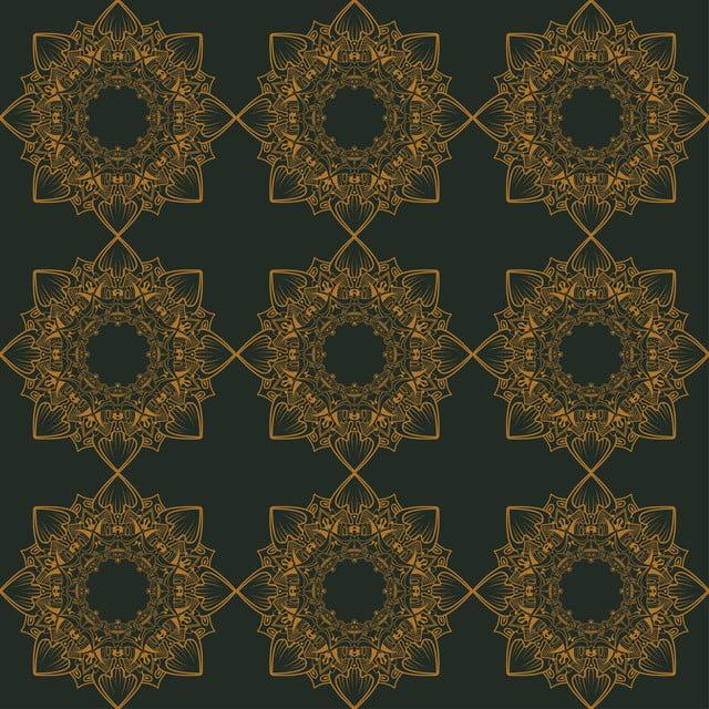 Damask Wallpaper Background Seamless Pattern Vintage