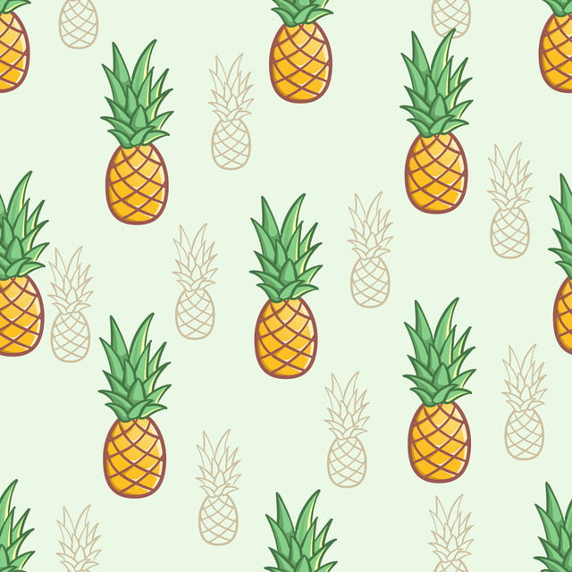 pngtree seamless sweet pineapple fruit pattern background image 130693