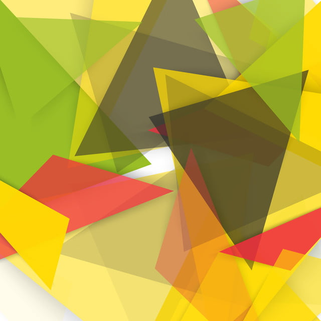 Vector Abstract Background With Color Yellow Green Black And
