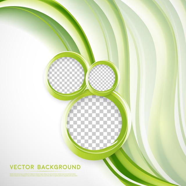 Vektor Abstrak Latar Belakang Putih Dengan Warna Hijau Bergelombang Desain,  Spanduk, Teknis, Lingkaran Gambar Latar Belakang Untuk Unduhan Gratis