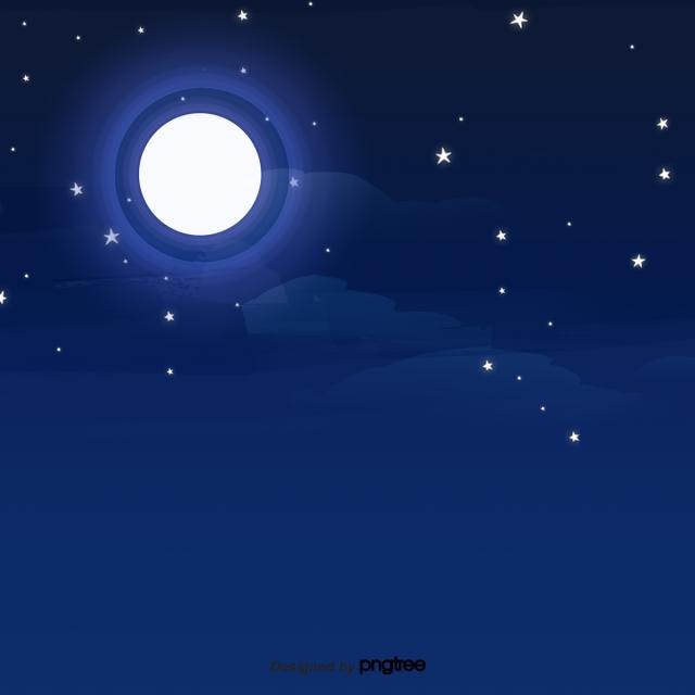 Cena De Ceu Estrelado Dos Desenhos Animados Scenes As Estrelas
