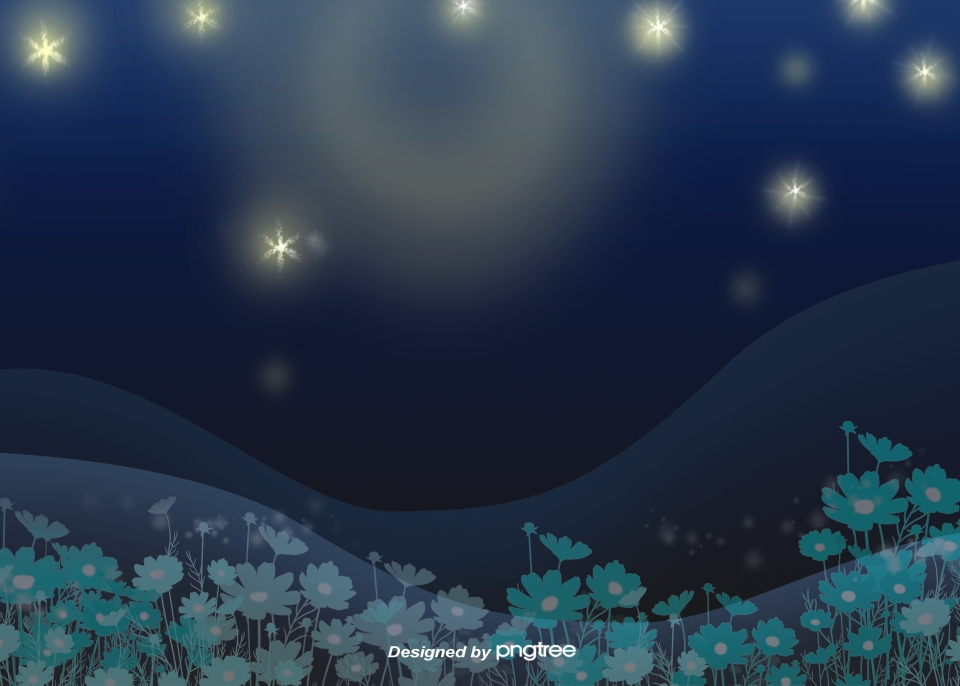 Flowers And Plants Night Sky Starry Sky Flowers And Plants Plant