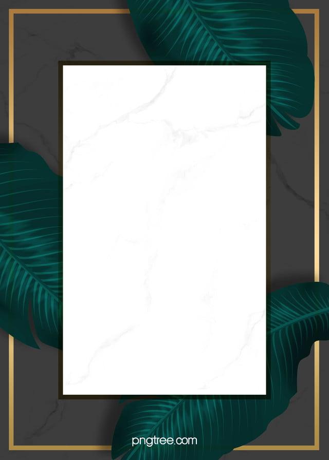 خلفية خضراء مزخرفة عنصر الزمرد أوراق النباتات الاستوائية تظليل الرخام صورة الخلفية للتحميل مجانا