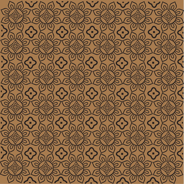 Javanese Batik Seamless Pattern Vector, ผ้าบาติก, รูปแบบ