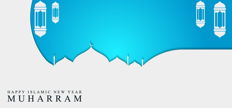 Banner Background Design Of Muharram Day For Celebrate Islamic New Year,  Banner, Background, Islamic Background Image For Free Download