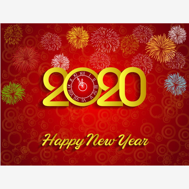 Calendrier Feu D Artifice 2020.Feu D Artifice De Fond Pour Le Nouvel An 2020 Fond De Feux