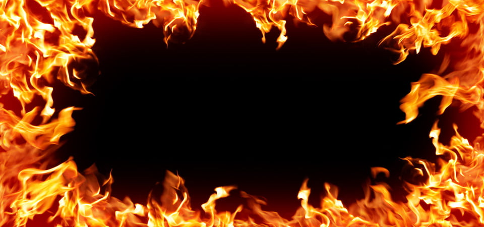 Hot Fire Flames Background Fire Flames Black Background Image For Free Download