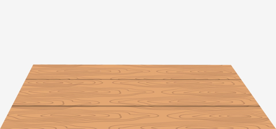 Wooden Texture Table Vector Empty Flat Boarding Background