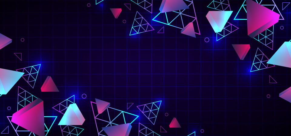Abstract 80s Trendy Geometric Background Neon Colors Background Abstract Retro Background Image For Free Download