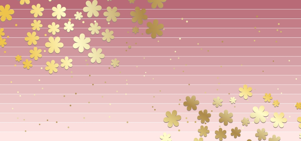 floral and strip background vector pink gold background image for free download https pngtree com freebackground floral and strip background 1157840 html