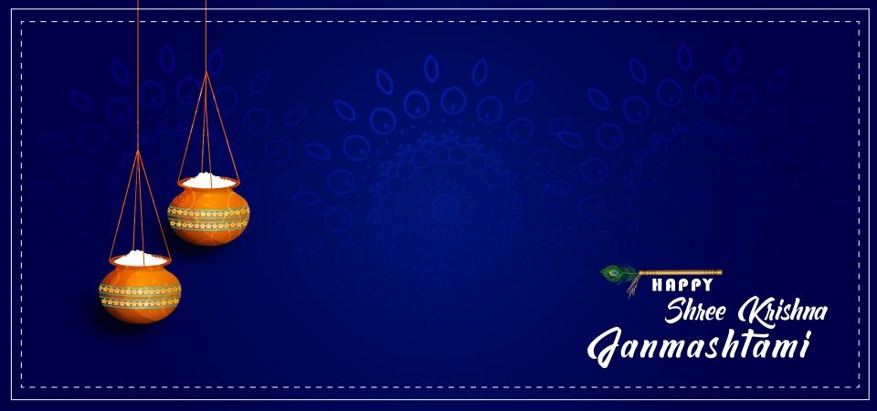 Happy Shree Krishna Janmashtami Background Shree Krishna Janmashtami Shree Krishna Janmashtami Design Background Image For Free Download