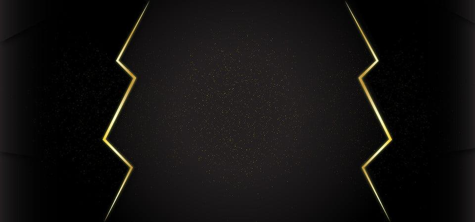 تصميم خلفية سوداء فاخرة مع تصميم ذهبي فخم ترف خلفية فاخرة