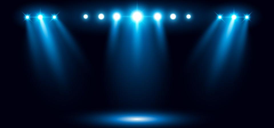 Podium Lighting Spotlight Background