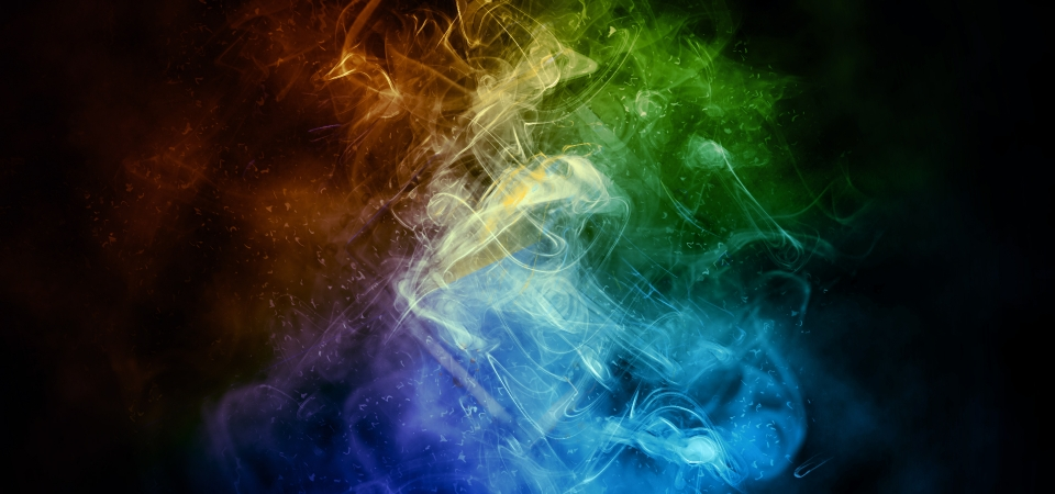 Abstract Colorful Smoke And Fire On Dark Background Abstract Dark Background Background Image For Free Download