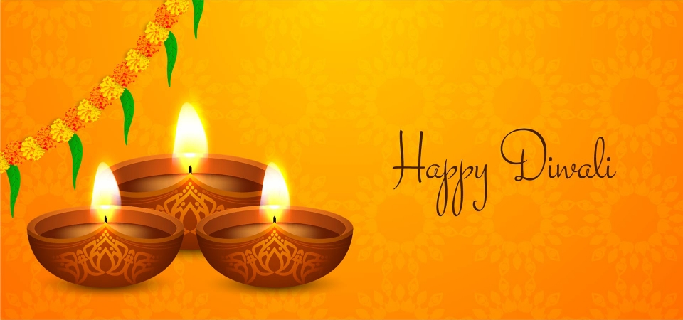 Happy Diwali Religious Background Design Diwali Background