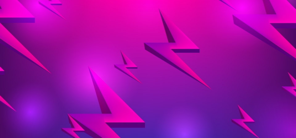Trendy Abstract Wallpaper Background Design With 80s Style