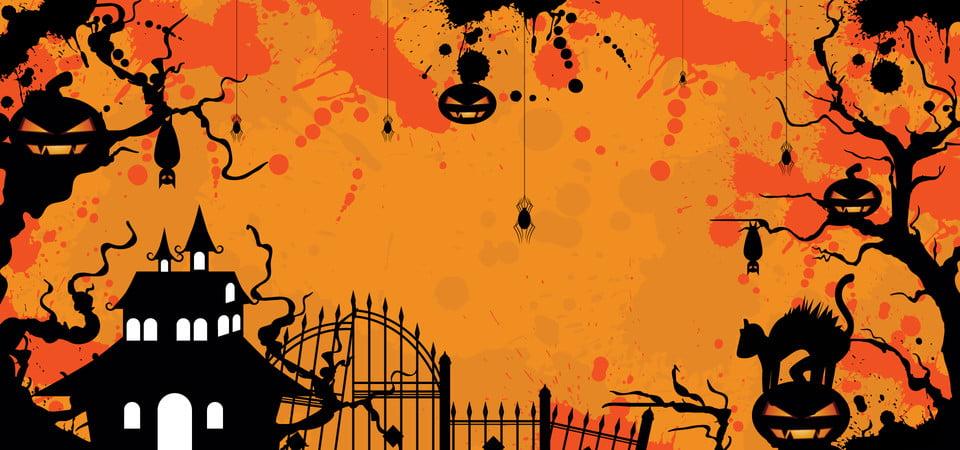 無料ダウンロードのためのハロウィーンの抽象的な背景 10月 イラスト 背景の背景画像