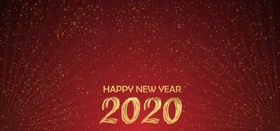Happy New Year 2020 Abstract Background Background Celebrate Celebration Background Image For Free Download
