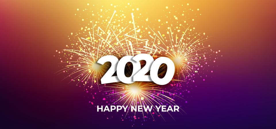 happy new year 2020 background vector background celebrate celebration background image for free download https pngtree com freebackground happy new year 2020 background vector 1160713 html