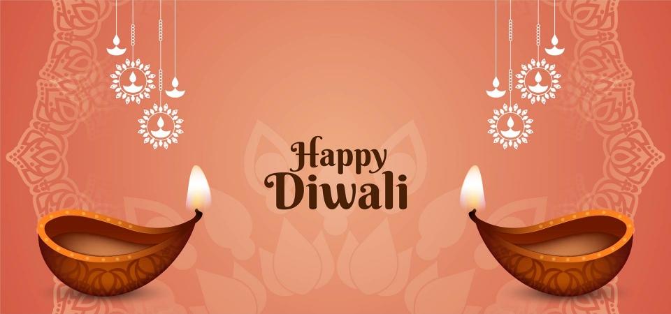 indian festival happy diwali greeting card diwali