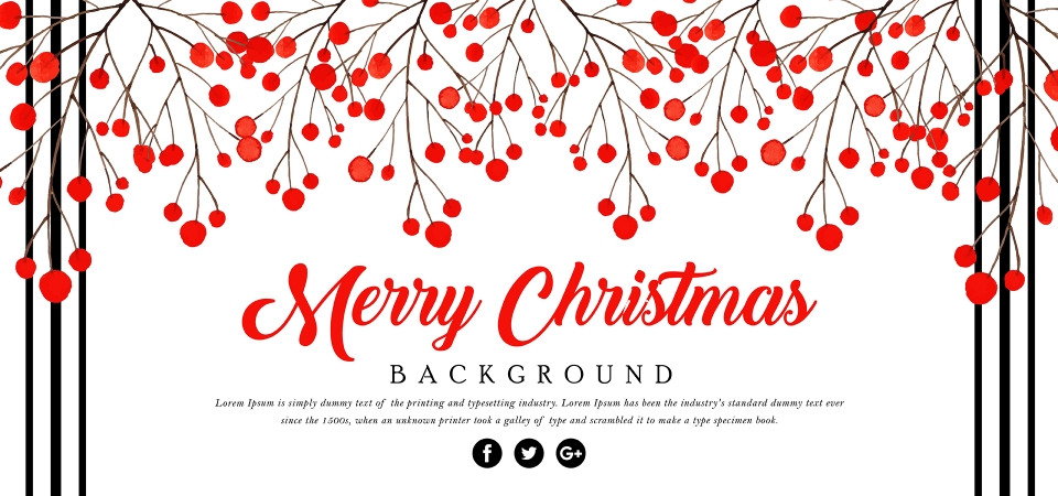 pngtree red vintage merry christmas background image 312053