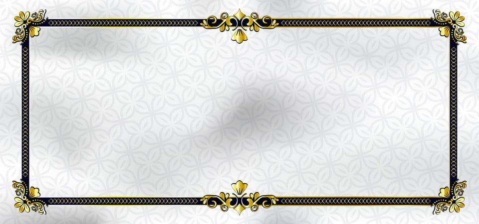 Modèle De Cadre Pour Carte De Voeux De Style Européen